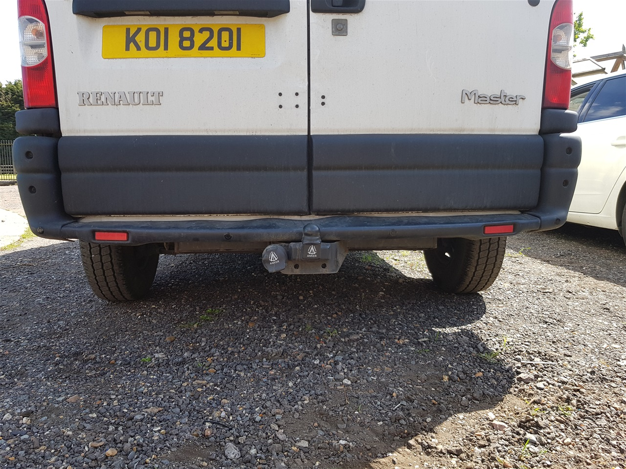 Renault Master Van rear parking sensors