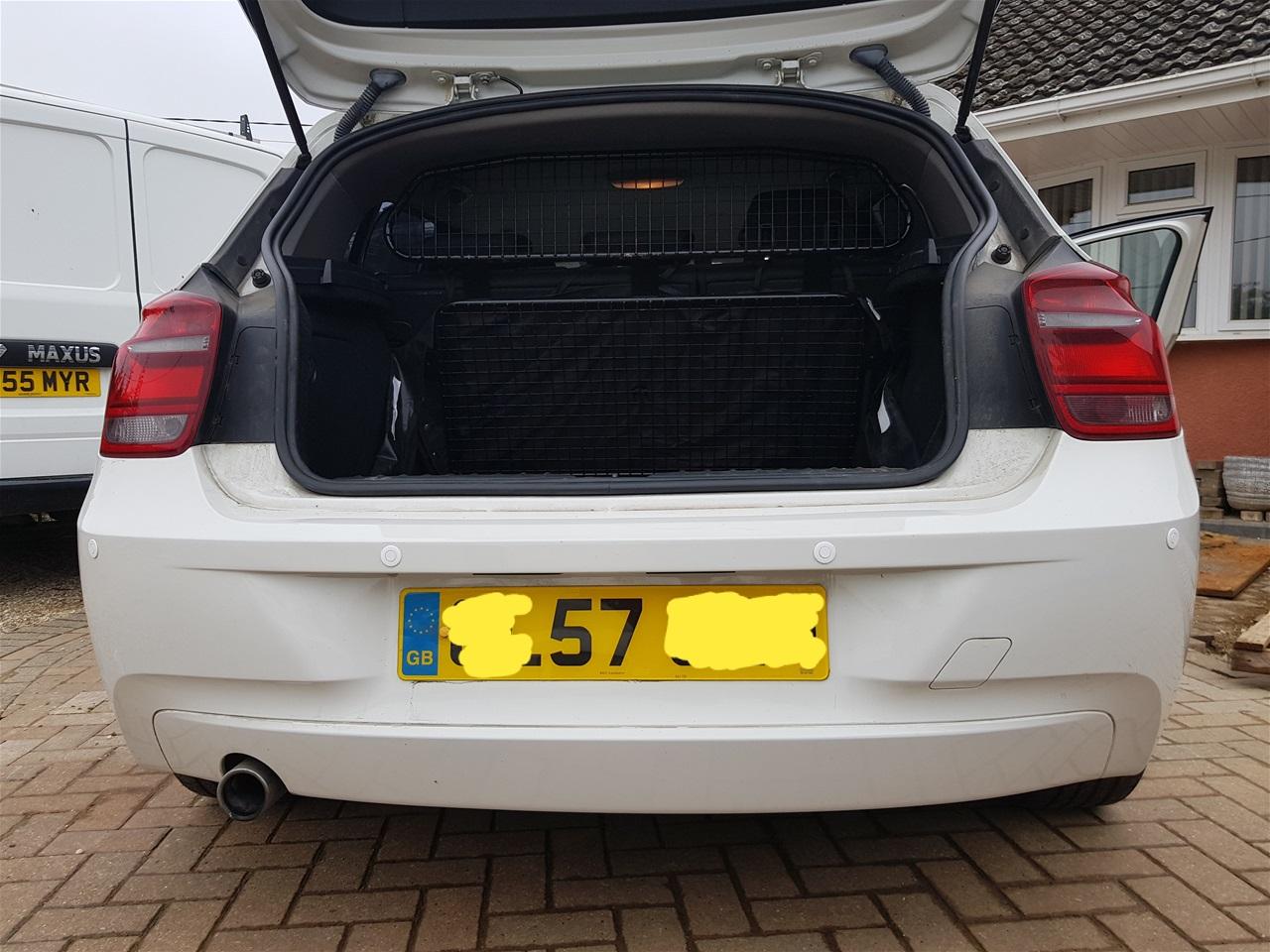 BMW 1 Series rear parking sensors