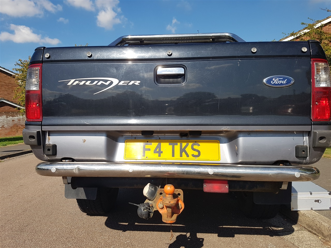 Ford Thunder rear parking sensors